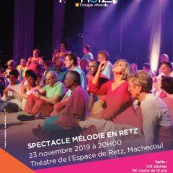 Spectacle à Machecoul le samedi 23 novembre 2019
